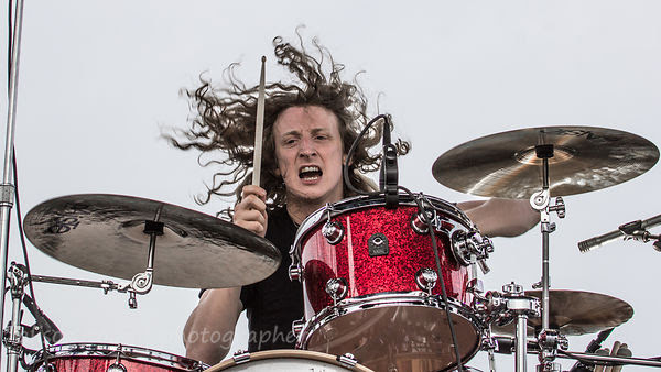 Kev Hickman, drums, Raveneye