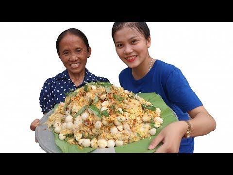 Bà Tân Vlog - Làm Đĩa Bánh Tráng Trộn Siêu To Khổng Lồ Sẽ NTN