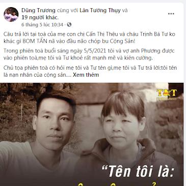 Lời khuyên cho Trịnh Thị Thảo:  cần tỉnh táo để không đi vào vết xe đổ của mẹ và hai anh trai