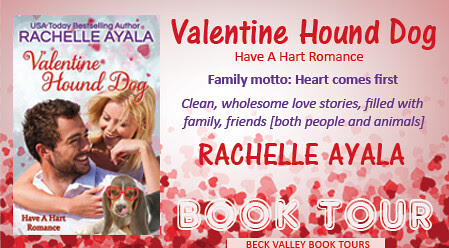 Blog Tour with Review – Valentine Hound Dog by Rachelle Ayala