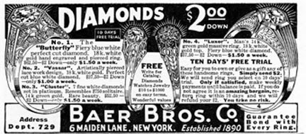 Wknd Event - B&W Ads: Jewelry Ads from 1924 - Vintage Ads