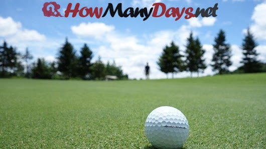 How Many Days Until Masters 2018? » UNTİLDAYS