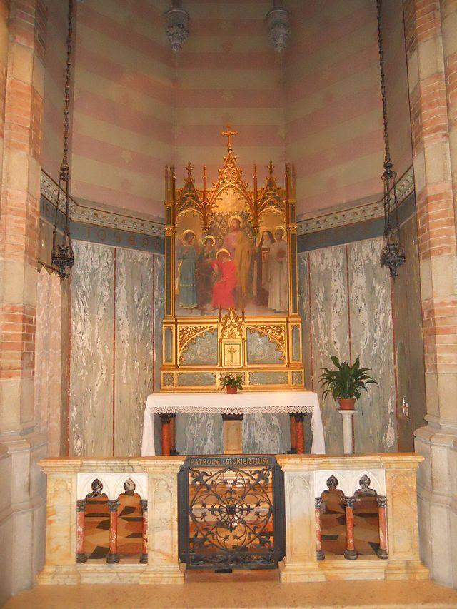 Roma, chiesa del Sacro Cuore di Gesù in Prati - Altare di San Giuseppe.JPG