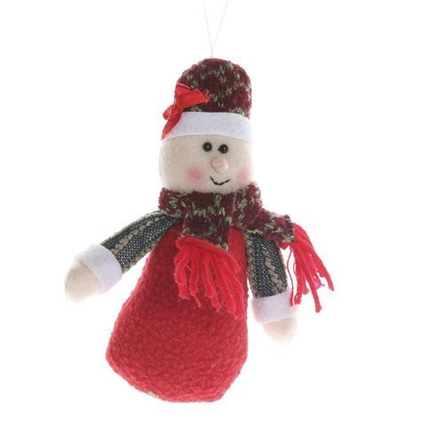 Plush Mrs. Claus Christmas Ornament   Christmas Ornaments