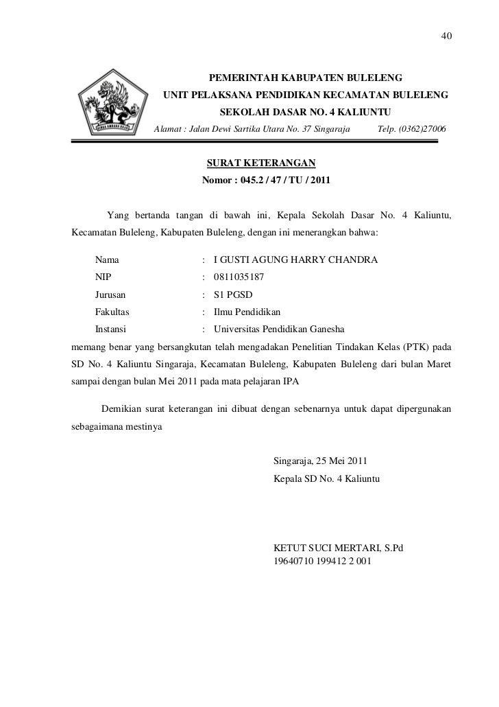 Contoh Surat Balasan Resmi Pemerintah Eki Riandra