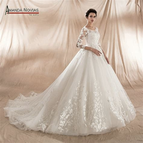 New Model 2018 Ball Gown Wedding Dress Factory Direct Sale