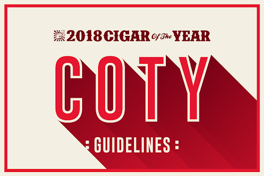Cigar of the Year Guidelines 2018 - Cigar Dojo