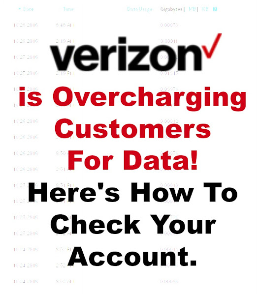 Verizon Is Overcharging Customers For Data! Here's How To Check Your Account - Shopping Kim