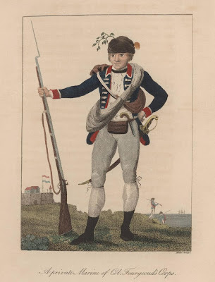 A private Marine of Col. Fourgeoud's Corps