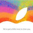 Here Comes the iPad Mini: Apple Announces October 23 Special Event