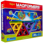 Magformers Super 30-Piece Magnetic Building Set