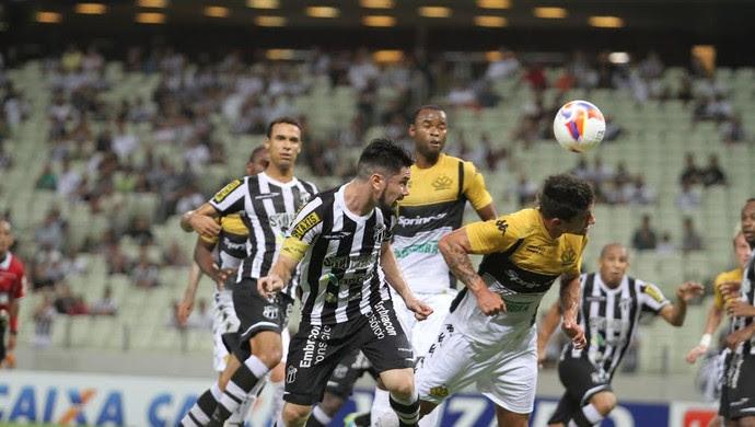 Ceará, Criciúma, Série B, Arena Castelão (Foto: Christian Alekson/CearaSC.com)