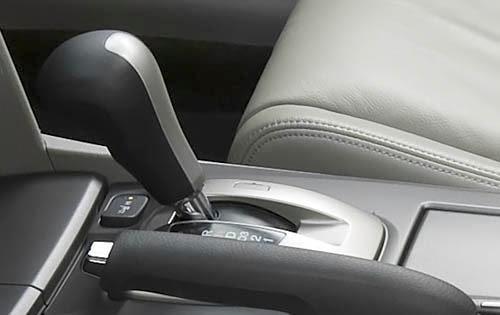 2011 Honda Accord Shifter Detail