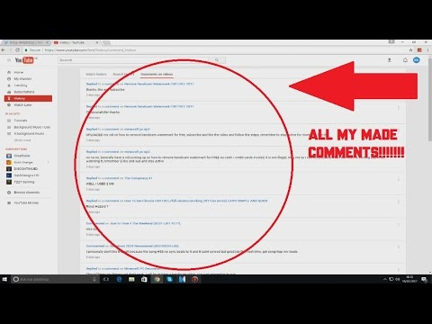 How To See My Comments On Youtube