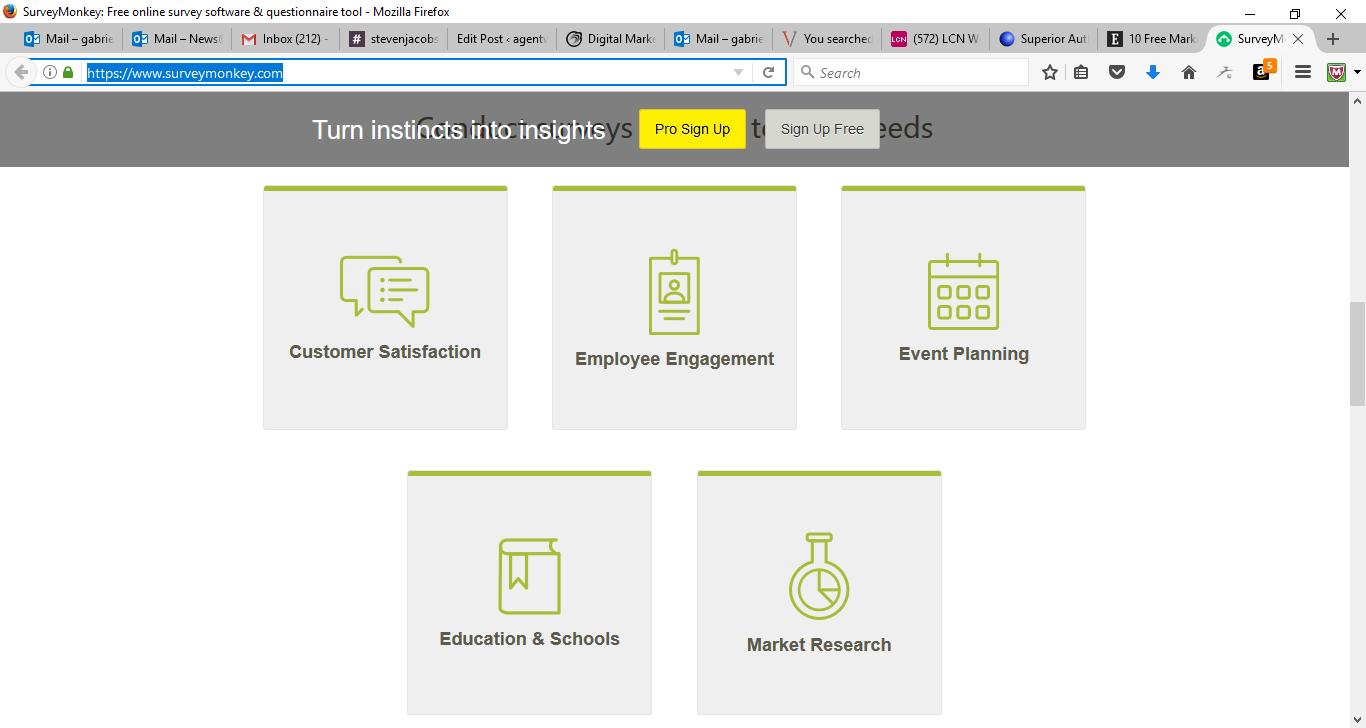 50 Free Marketing Tools Any Small Business Can Use - SurveyMonkey