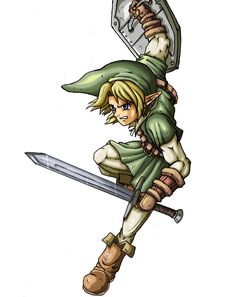 Todos Mis Dibujos De Link Legend Of Zelda Arte En Taringa