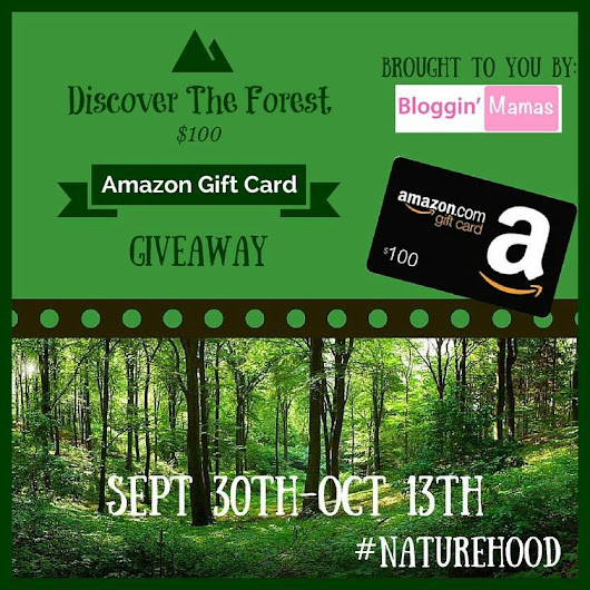 Discover the Forest $100 Amazon Gift Card Giveaway – ends 10/13 #Naturehood