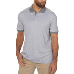 Calvin Klein Men's Liquid Cotton Polo, Gray, Medium