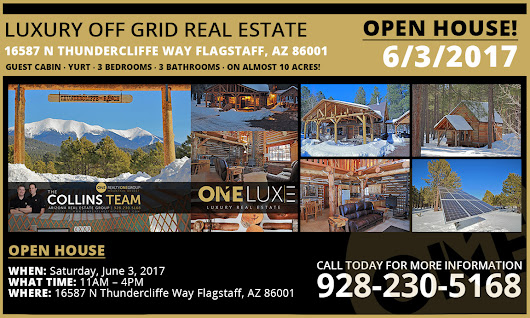OPEN HOUSE 6/3 | Luxury Off Grid Real Estate for Sale in Flagstaff