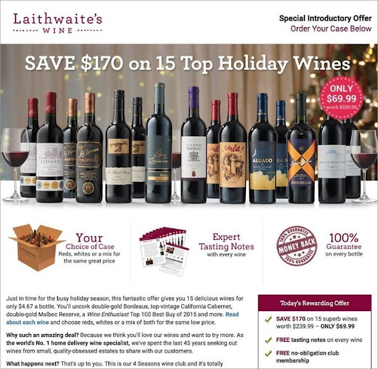 Laithwaites Wine Club Review - Rated The #1 Best International Wine Club for 2016 | Wine Club Reviews