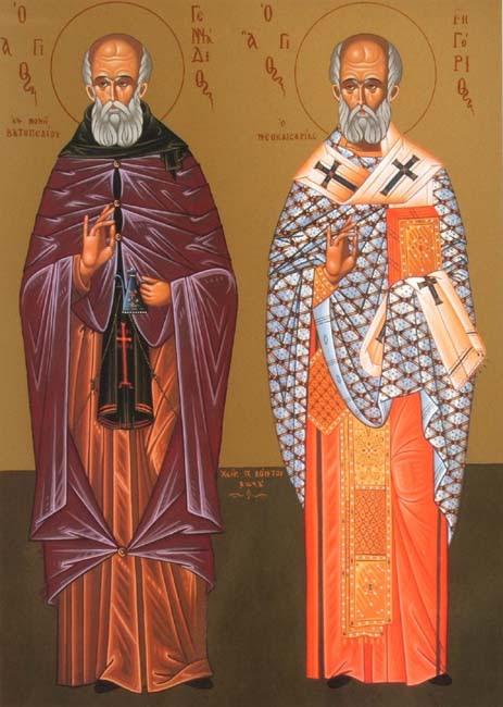 IMG ST. GENADDIUS, Ascetic, of Vadopedi of Athos