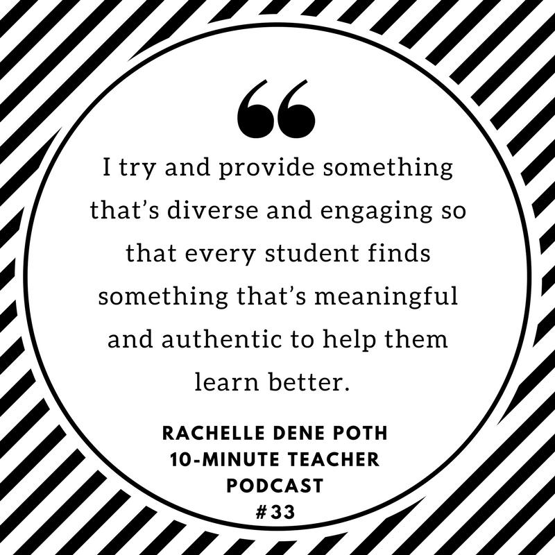 rachelle dene poth language learning