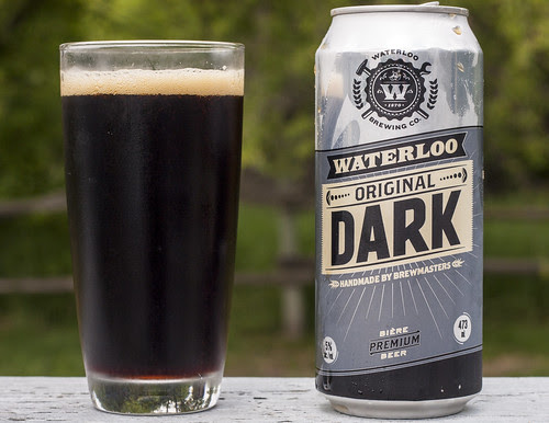 Review: Brick Brewing's Waterloo Original Dark Lager by Cody La Bière