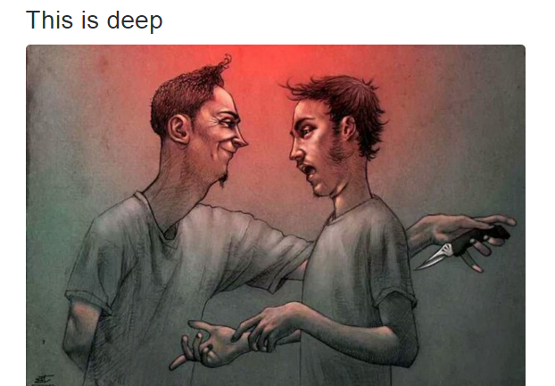 Be Careful Who You Trust Im14andthisisdeep