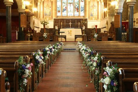 Wedding Flowers Pew Ends Pew End Decorations Wedding cp