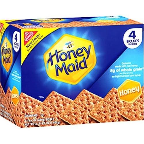 Honey Maid Honey Graham Crackers - 4 pack, 14.4 oz boxes
