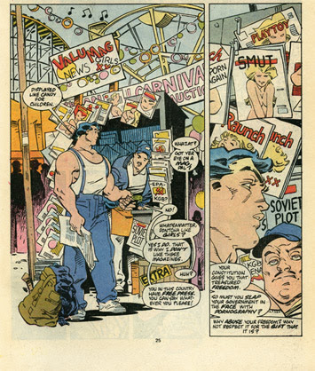 scan of Marvel Comics Presents #10 p25