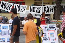 REALIZADA 26/07/2008 Exposición Contra la contaminación electromagnética