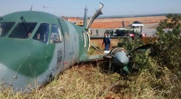 acidente EMB-110 FAB foto estado de minas 1