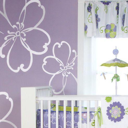 giant flower wall decals | Glenna Jean LuLu White Flower Wall Stickers - Wall Sticker Outlet