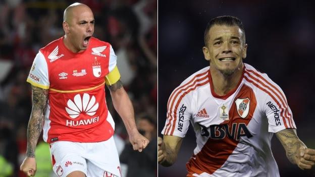 Santa Fe vs.  River Plate hoje pela Recopa Sul-Americana