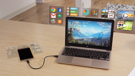 The Superbook: Turn your smartphone into a laptop for $99