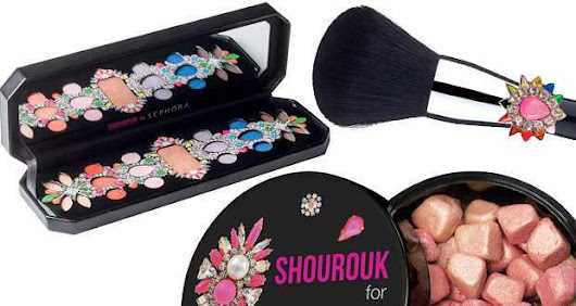Shourouk for Sephora: collezione make up gioiello