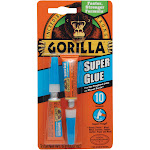 Gorilla Glue Super Glue - 2 pack, 0.11 fl oz tubes