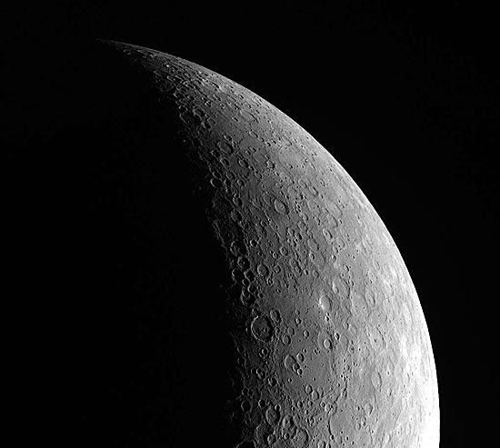 Esta é a primeira vez que imagens de Mercúrio são obtidas com exatidão; veja fotos da superfície do planeta