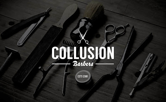 Collusion Barbers Hitchin • Men's Barbershop & Hairdressing Salon