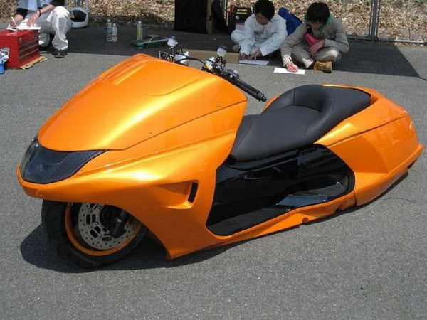 Awesome Japanese Custom Scooters (24 Pics) ~ ScaniaZ