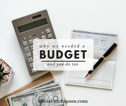 WHY WE NEEDED A BUDGET AND YOU DO TOO - alicia + co.