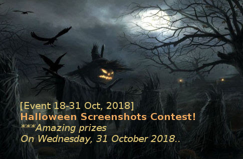 [Event 18-31 Oct, 2018] Halloween Screenshots Contest! | Lineage 2 Scarlet Community