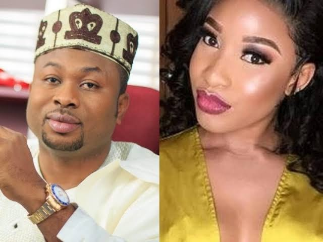 Churchill Sues Tonto Dikeh For N500million For Defamation Against Father