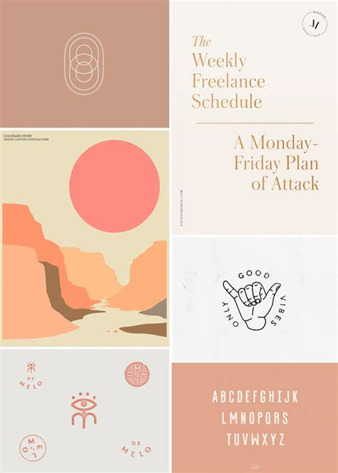 feminine graphic design inspiration. / sfgirlbybay