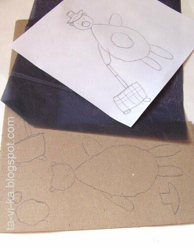 как делать гравюру на картоне