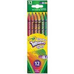 Crayola Erasable Twistables Colored Pencils - 12 count