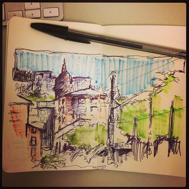 Fast sketch #zumarraga