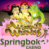South Africa Springbok Casino Features Top Paying Slot Aladdins Wishes as Game of the Month