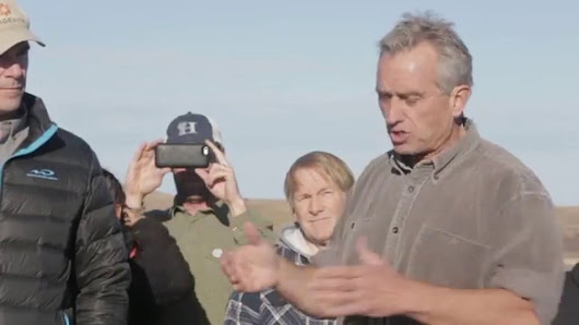 WATCH: Robert F. Kennedy Jr. Speaks Out Against Dakota Access Pipeline (DAPL) – Greener Ideal